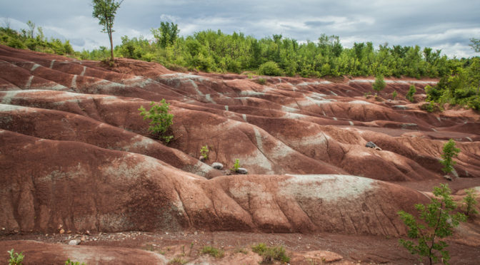 The Cheltenham Badlands - Ontario - Travel Photography