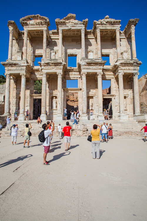 Ephesus, Turkey - Turkish Airlines - Travel Photography