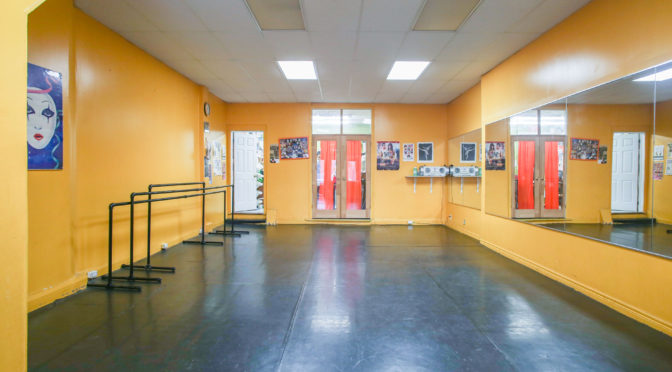 Interior Photographer for Dance Studio Rental Space on Danforth