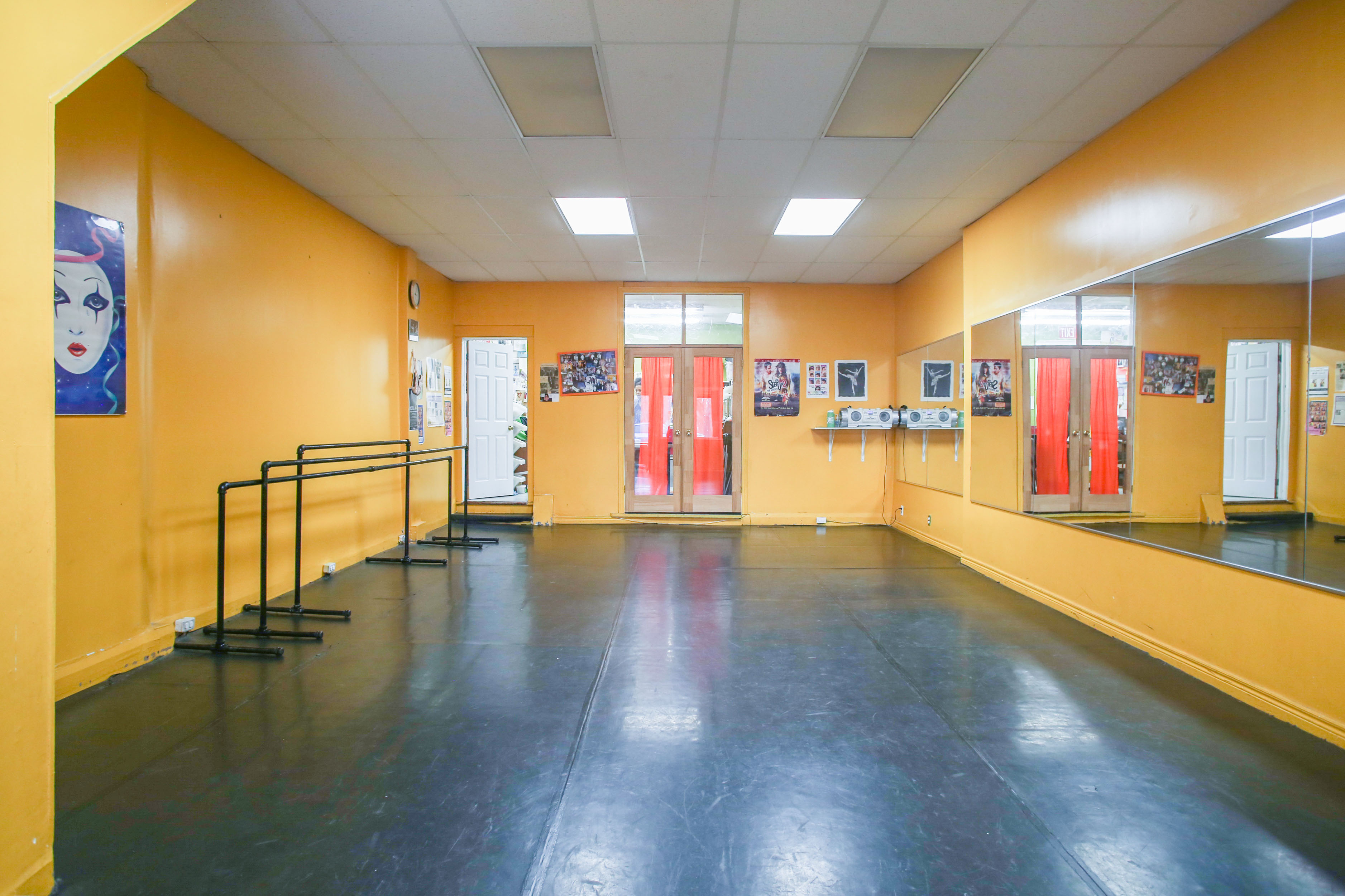 Interior Photographer For Dance Studio Rental Space On The