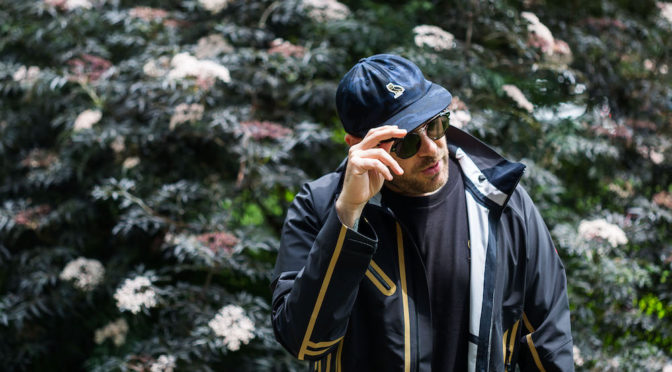 OVO Hat and Jacket Photographs for Sidewalk Hustle