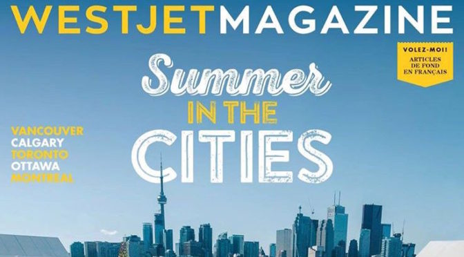 Westjet Magazine Front Cover