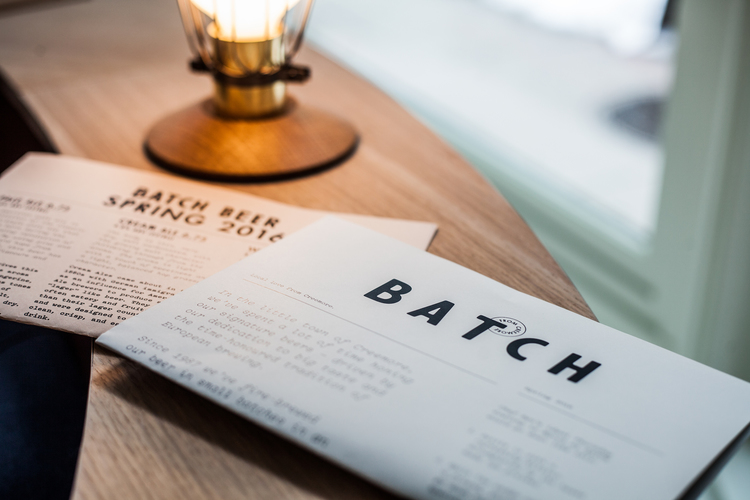 Batch Restaurant - Interior Photographs