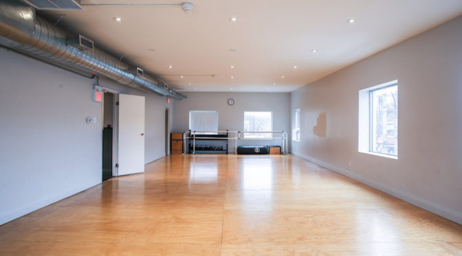 Toronto Interior Photography For A Dance Studio Rental Space
