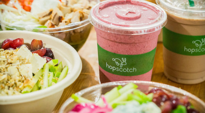 Food and social media photography for Hopscotch in Toronto