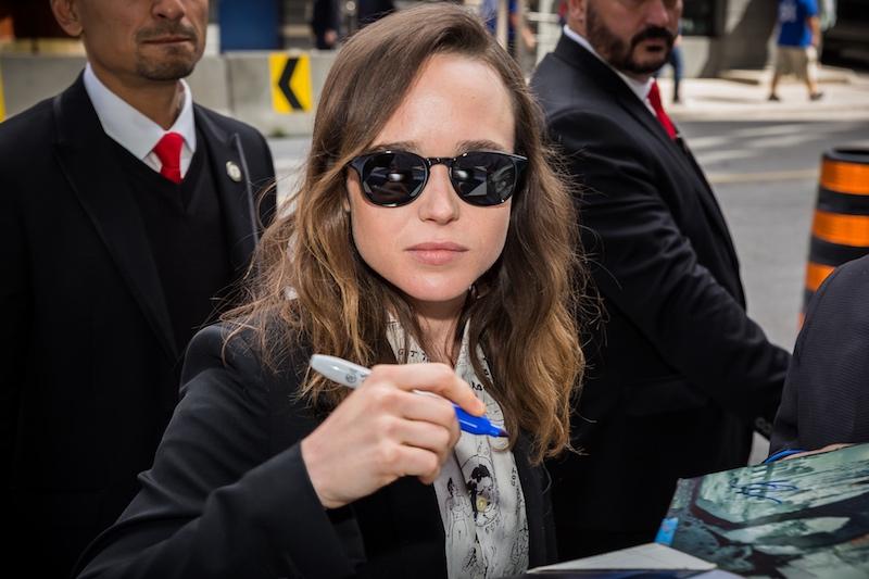 Ellen Page - celebrity photography