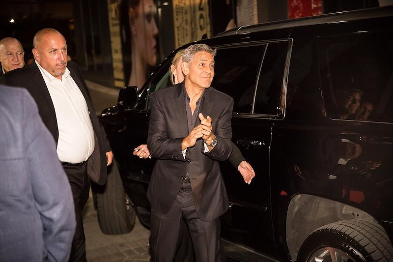 George Clooney - TIFF toronto